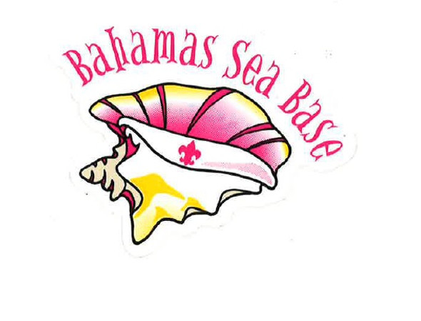 Sticker Bahamas Sea Base Conch Adventure Outfitters