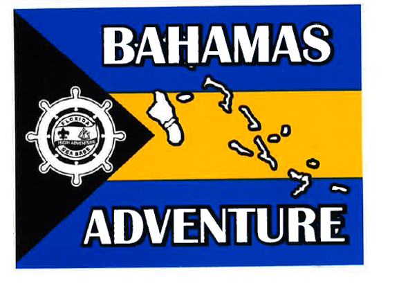 Sticker Bahamas Adventure Flag Adventure Outfitters