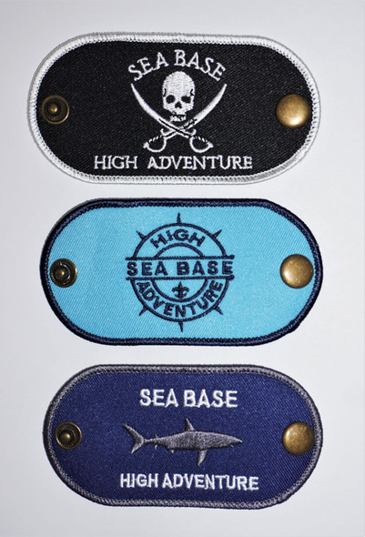 Snap Slide Skull & Swords Adventure Outfitters
