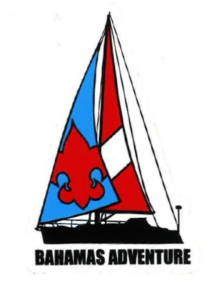 Sticker Bahamas Adv. Sailboat Adventure Outfitters
