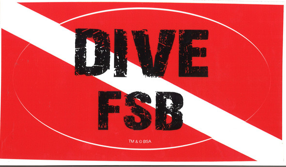 Sticker Dive Fsb Adventure Outfitters