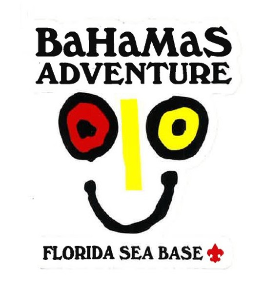 Sticker Bahamas Adv.  Face Adventure Outfitters