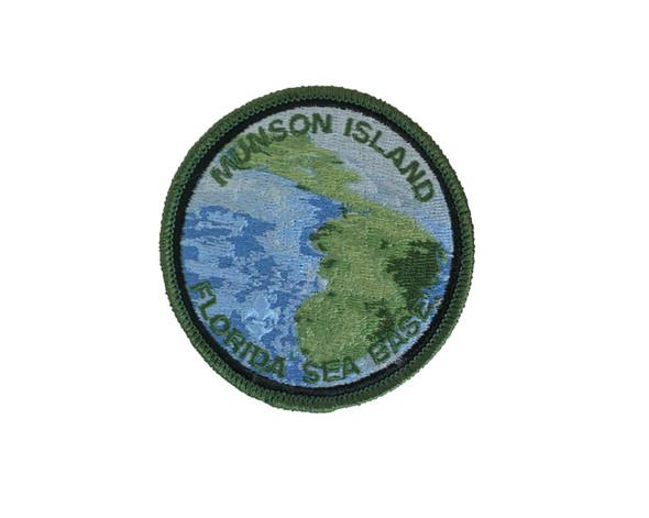 Munson Island 3 Round A-B Emblem