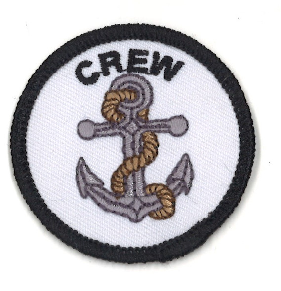 Crew & Anchor 2 Round A-B Emblem