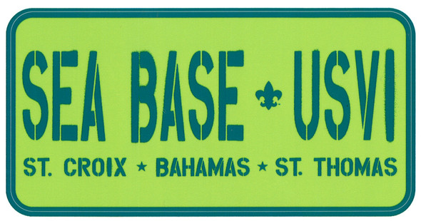 Sticker Sea Base Usvi Adventure Outfitters