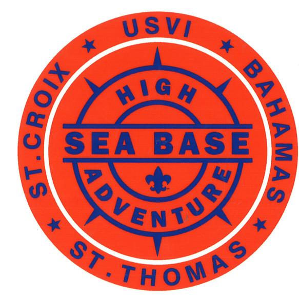 Sticker Sea Base USVI Compass Adventure Outfitters