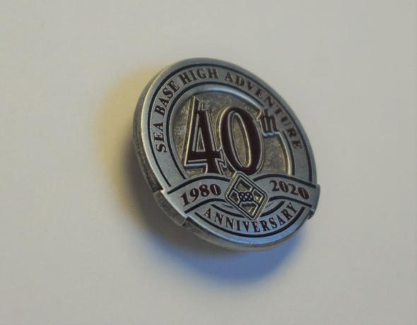 40th Anniversary Pin Symbol Arts