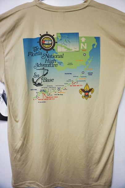 Nautical Map Spfss Tan Xl  Hintz Targeted