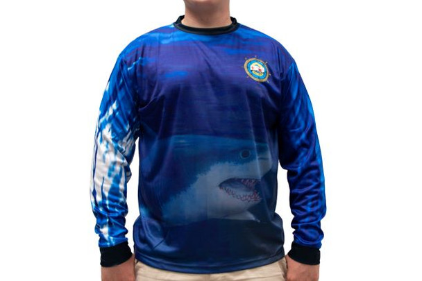 Shark Sublimated Ls Power-Tek