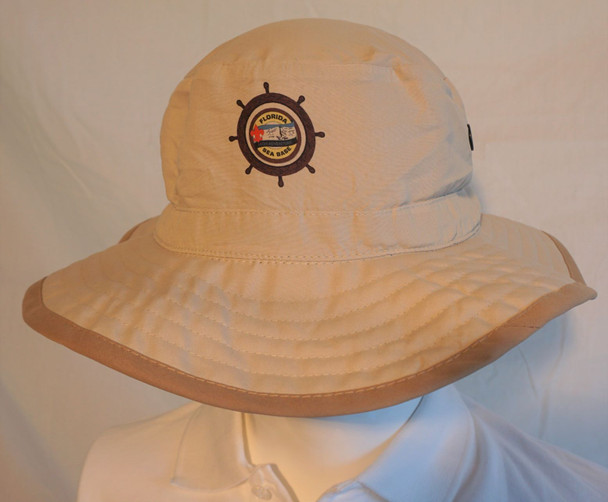 Bucket Hat W/ Shipwheel Logo Hintz Targeted