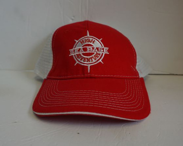Cap Compass Red/White Adventure Outfitters