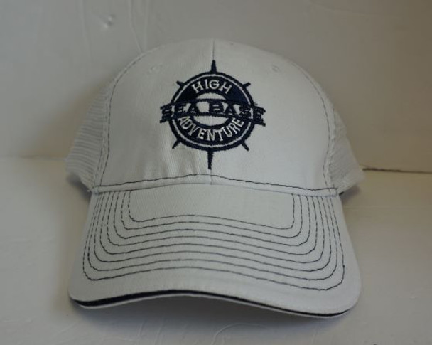 Cap Compass White/White Adventure Outfitters