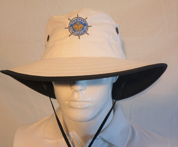 Bucket Hat With Neck String Ouray Sportswear