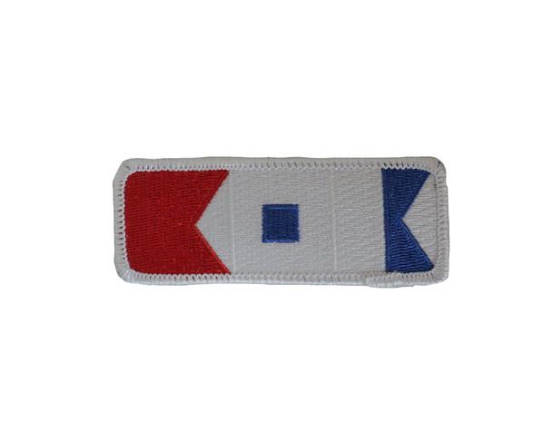 Bsa Signal Flags 3-1/2 X 1-1/2 A-B Emblem