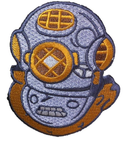 Diving Helmet 2-1/2 X 3-1/4 A-B Emblem