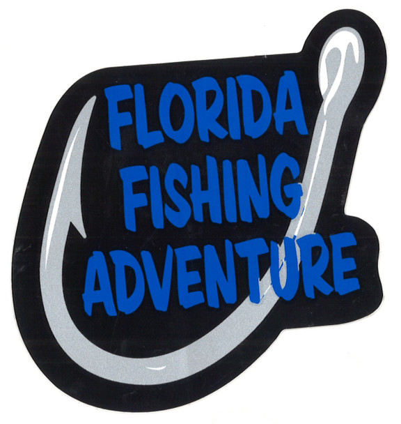 Sticker Fishing Adventure Adventure Outfitters