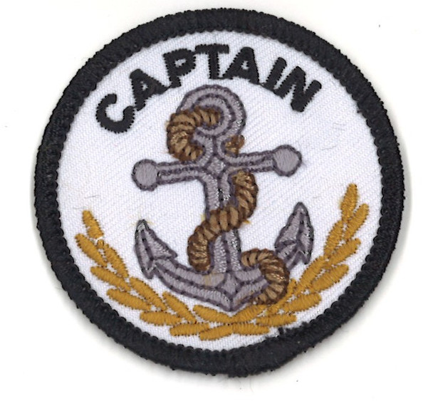 Captain & Anchor 2Round A-B Emblem