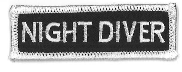 Night Diver 3 X 1 A-B Emblem