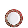 thumbnail image of Rim Soup Plate, 8 1/2 inch | Versace Christmas Blooms
