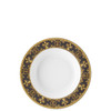 thumbnail image of Rim Soup Plate, 8 1/2 inch | I Love Baroque Nero