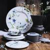 thumbnail image of Plate, Flat, Coupe, 10 1/2 inch | Brillance Fleurs des Alpes