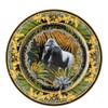 thumbnail image of Wall Plate, Bob, Gorilla, 11 3/4 inch | La Regne Animal