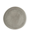 thumbnail image of Dinner Plate, #2, Relief Front & Back, 10 5/8 x 10 1/4 inch | Junto Pearl Grey