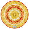 thumbnail image of Service Plate, 13 inch | Medusa Rhapsody Red
