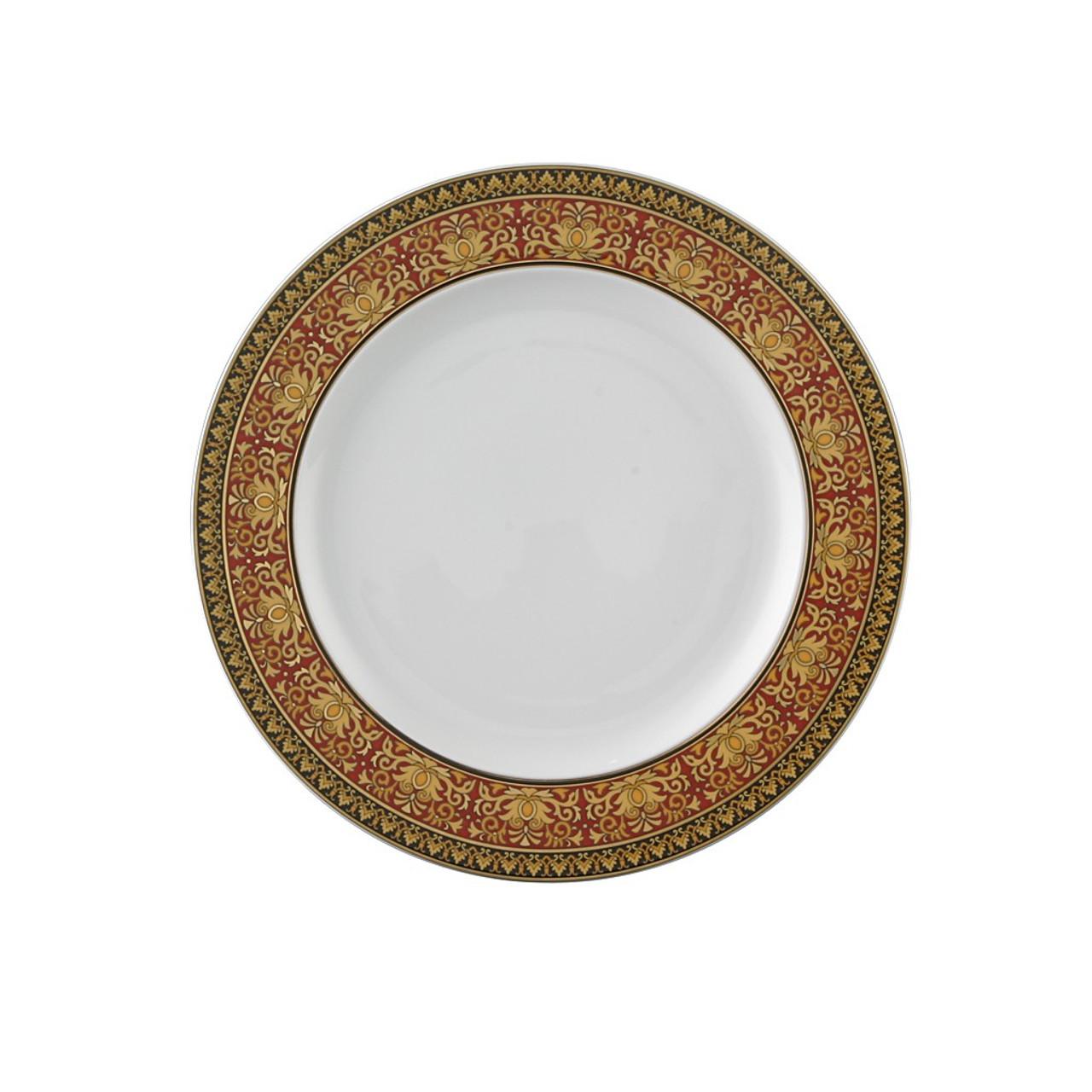 Versace by Rosenthal Medusa Blue Salad//Dessert Plate