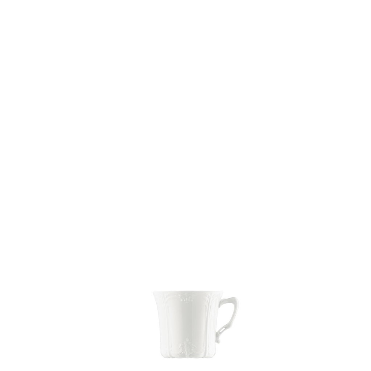 Rosenthal Baronesse White Coffee Saucer