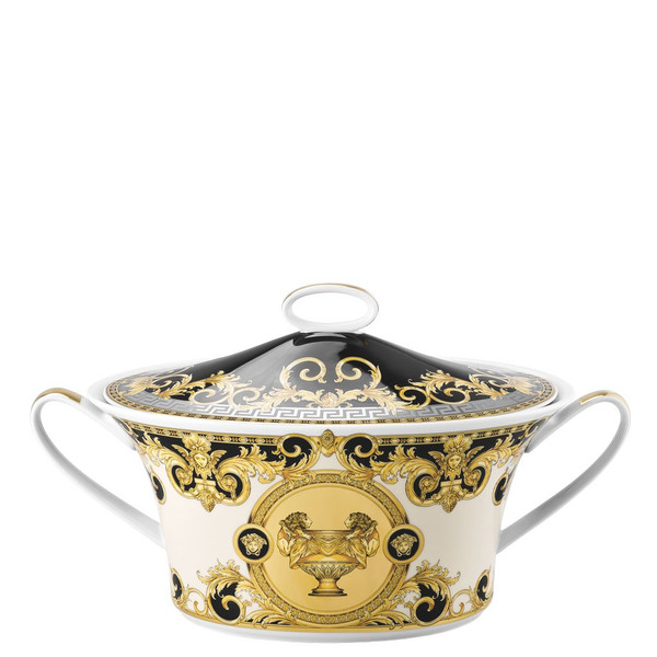 Vegetable Bowl, Covered | Versace Prestige Gala