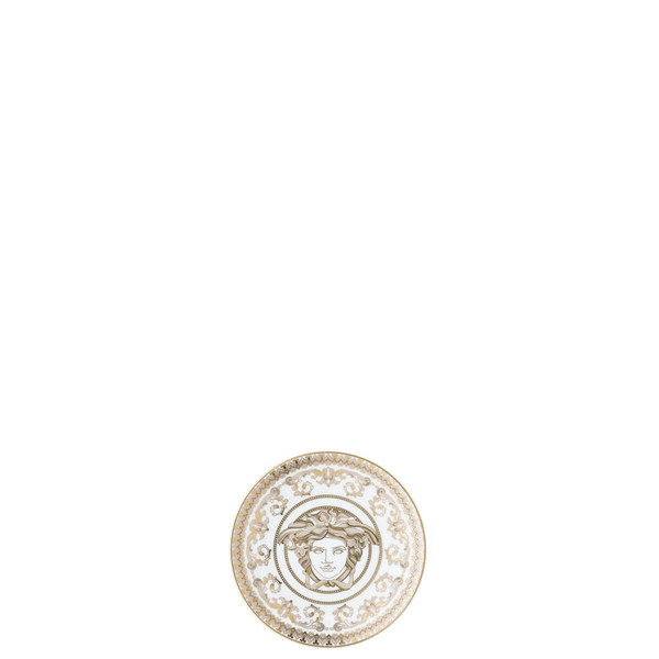 Plate, round, 4 inch | Versace Medusa Gala