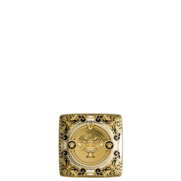 Canape Dish Porcelain, Square, 4 3/4 inch | Versace Prestige Gala
