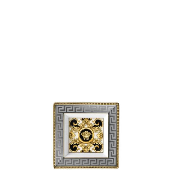 Tray, Porcelain, Square, 5 1/2 inch | Versace Prestige Gala