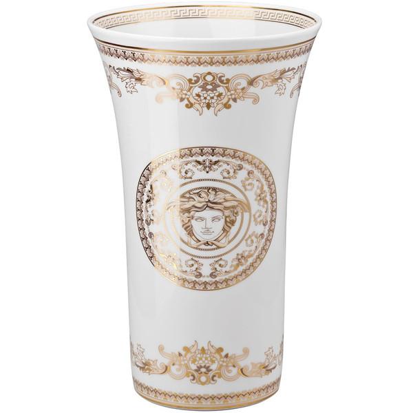 Vase, 13 1/2 inch | Versace Medusa Gala