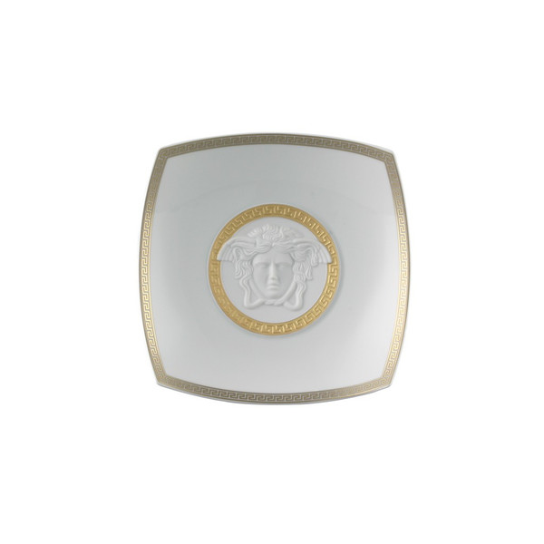 Candy Dish, Porcelain, 7 inch | Versace Gorgona