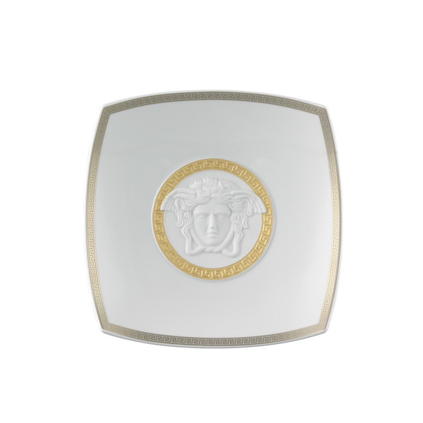 Candy Dish, Porcelain, 8 1/2 inch | Versace Gorgona