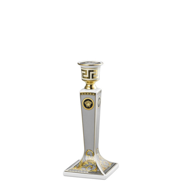write a review for Candleholder Porcelain, 8 inch | Versace Prestige Gala