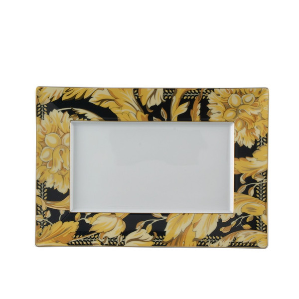Tray, Porcelain, 11 1/2 x 8 1/4 inch | Versace Vanity