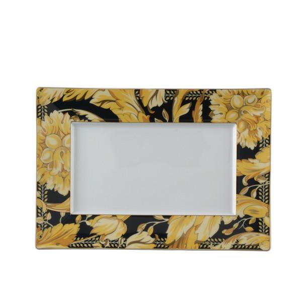 Tray, Porcelain, 11 1/2 x 8 1/4 inch | Versace Vanity