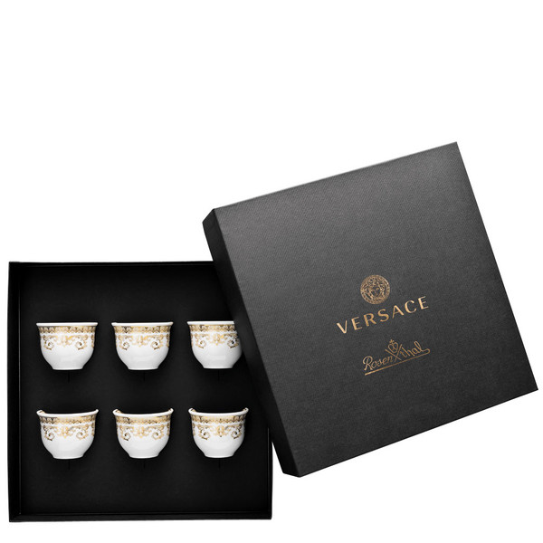 Set of 6 cups small without handle | Versace Medusa Gala
