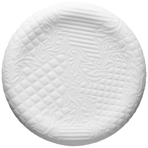 White Dish, 13 1/2 inch | Versace Vanitas White