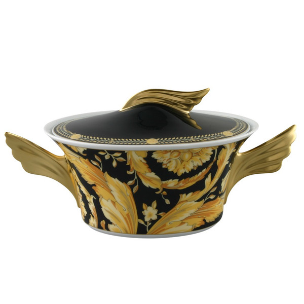 Vegetable Bowl, Covered, 54 ounce | Versace Vanity