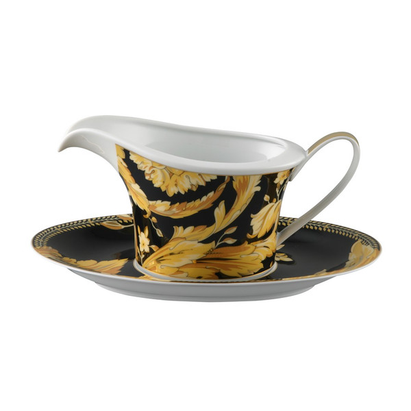 Sauce Boat, Two Pieces, 18 ounce | Versace Vanity