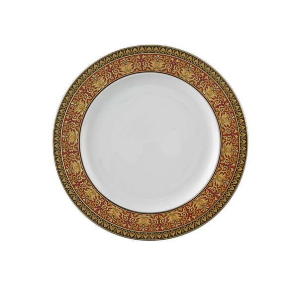 Salad Plate, 8 1/2 inch | Versace Medusa Red