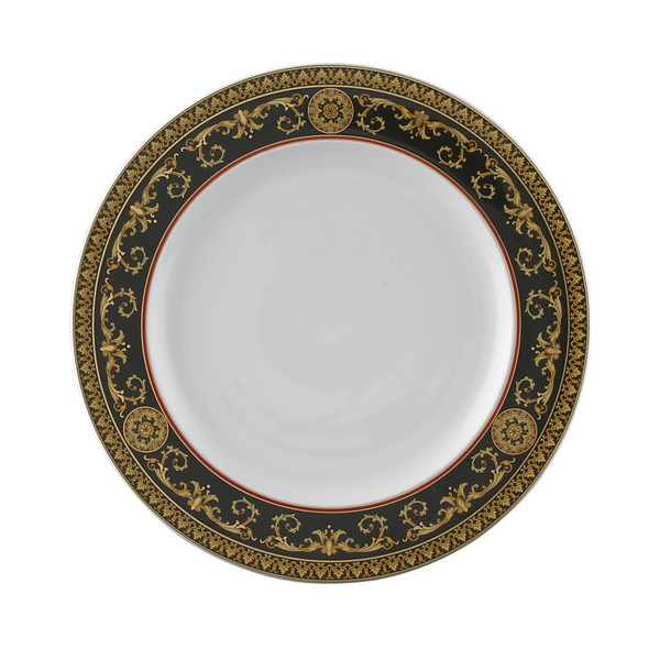 Dinner Plate, 10 1/2 inch | Versace Medusa Red