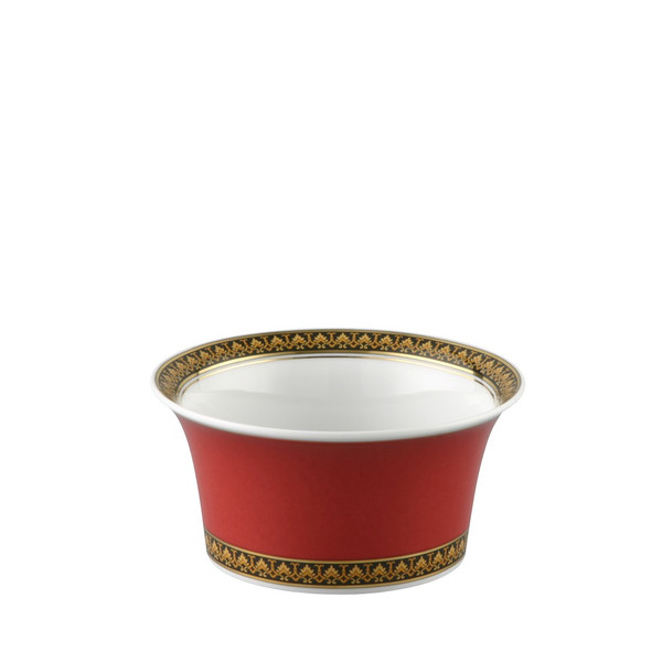 Fruit Dish, 4 3/4 inch, 9 ounce   Versace Medusa Red