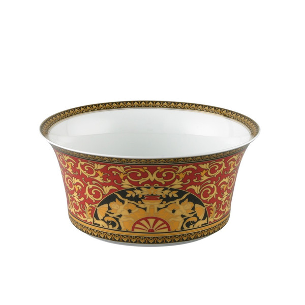Vegetable Bowl, Open, 9 3/4 inch, 115 ounce | Versace Medusa Red