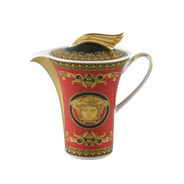 write a review for Creamer, Coverd, 7 ounce | Versace Medusa Red