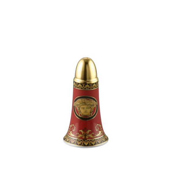 Salt Shaker | Versace Medusa Red